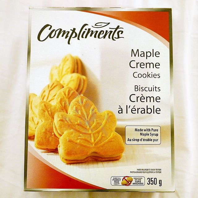 Compliments メープルクッキー メープルクリームクッキー Maple Creme Cookies