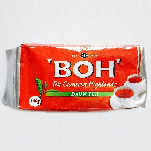 ボーティー BOH 紅茶 茶葉 DAUN TEH TEA LEAVES 100g